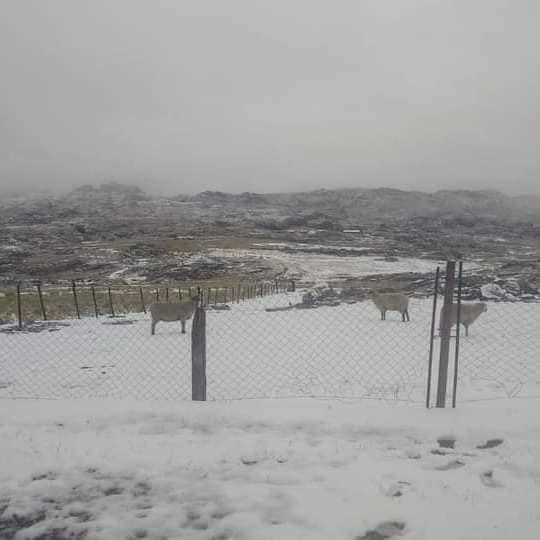 Primera nevada 2021 Cerro champaqui