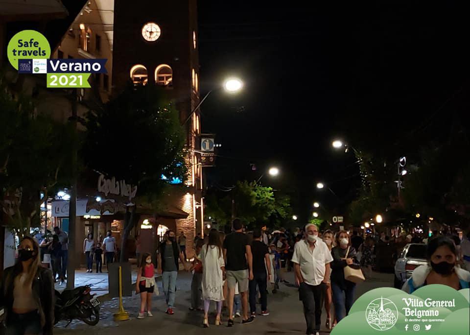 Villa General Belgrano Con un 98% de Ocupacion